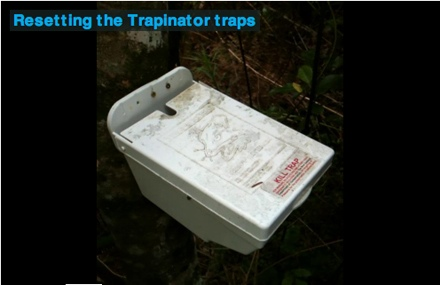 SETTING THE TRAPINATOR